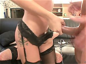 mischievous Tory Lane gives Amy Brooke a dual dipping
